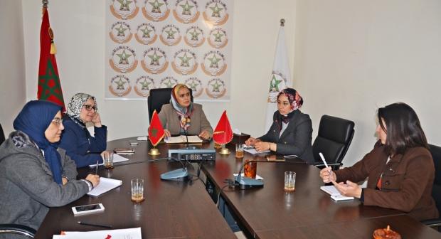 اجتماع اللجنة المركزية للعمل النسائي