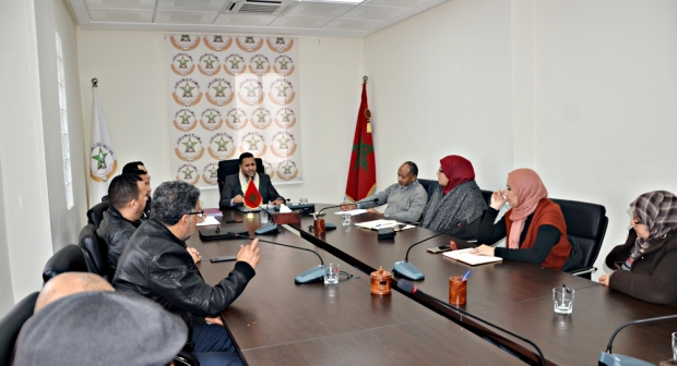 النقابة الوطنية لمستخدمي المؤسسة المحمدية للأعمال الاجتماعية لقضاة وموظفي العدل تتدارس مشاكل القطاع