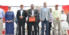 """مسيرة حاشدة بمراكش لـ""""Untm"""" بحضور قيادات وطنية وازنة"""