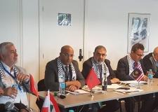 بحضور الاتحاد الهيئة الدولية للدفاع عن المهنيين الفلسطينيين تعقد جمعها العام بكوبنهاجن وتعلن برنامج السنة المقبلة