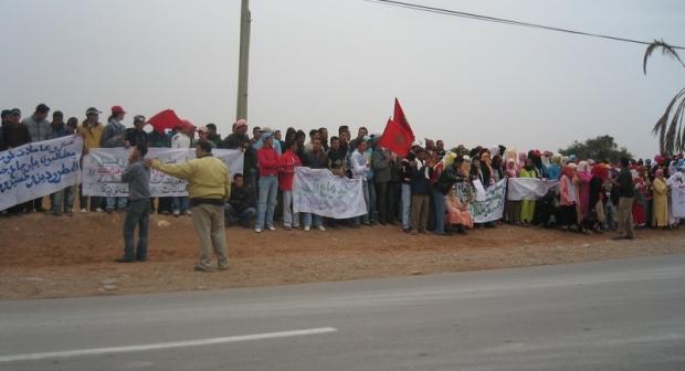 تنسيقية المكاتب النقابية للعمال الزراعيين بشتوكة آيت باها تصعد احتجاجها وتدعو إلى سحب مرسوم العقود المحددة