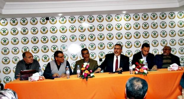 الأمين العام يفتتح مقرا جديدا لنقابة الفوسفاط بخريبكة ويشيد بجهود الجامعة