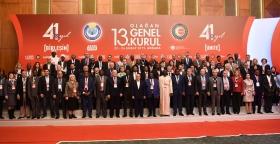 جامعة موظفي الجماعات المحلية تشارك في المؤتمر 13 لنقابة حزمت إش بتركيا