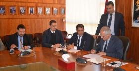 """في سابقة في تاريخ الوزارة، نقابات """"untm"""" بقطاعات التعمير والسكنى توقع مع الوزير على اتفاق للحوار الاجتماعي القطاعي"""