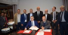 ال UNTM يوقع بمكناس اتفاقية جماعية مع شركة سان جوبان