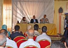 الأمين العام يحاضر بالقنيطرة حول تكامل السياسي والنقابي في مسيرة الإصلاح