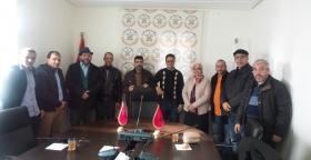 اليوسفي يستقبل أعضاء عن المكتب الوطني للهيئة الوطنية للتقنيين بالمغرب